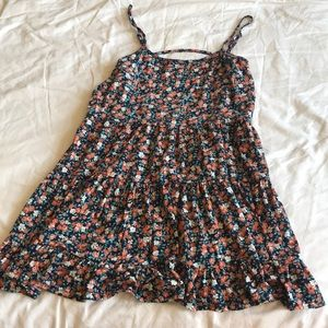 The Impeccable Pig Dresses - Open back floral sun dress - small